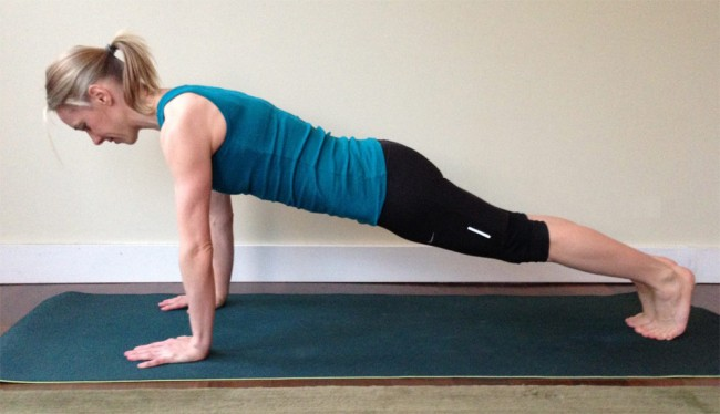 Synergy Strengthen - Yoga Plank